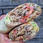 One Love Kitchen Jerk Chicken Wrap London Caribbean Street Food
